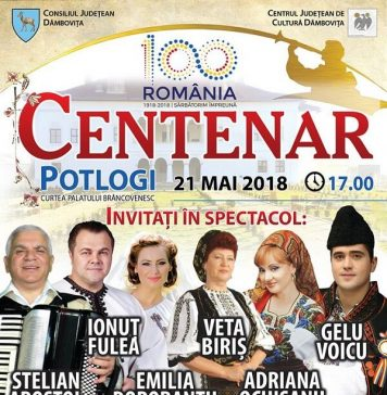 """Centenar"" - Spectacol aniversar la Potlogi"