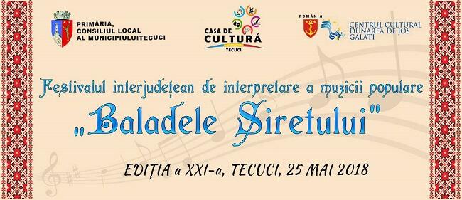 Festivalul Baladele Siretului 2018