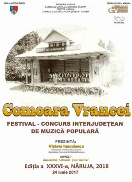 Festivalul Interjudetean Comoara Vrancei 2018