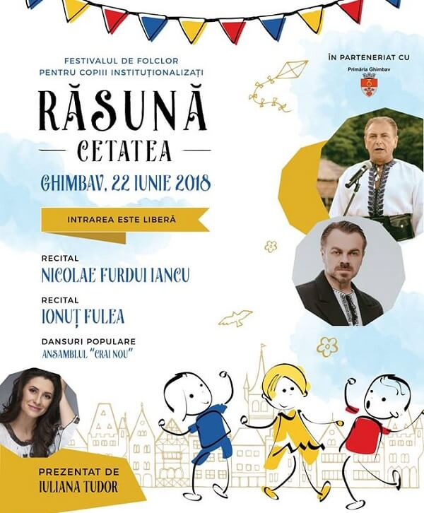 Festivalul de Folclor pentru Copiii Institutionalizati - Rasuna Cetatea 2018
