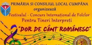 """Festivalul de Folclor pentru Tineri Interpreti """"Dor de Cant Romanesc"""" 2018"""