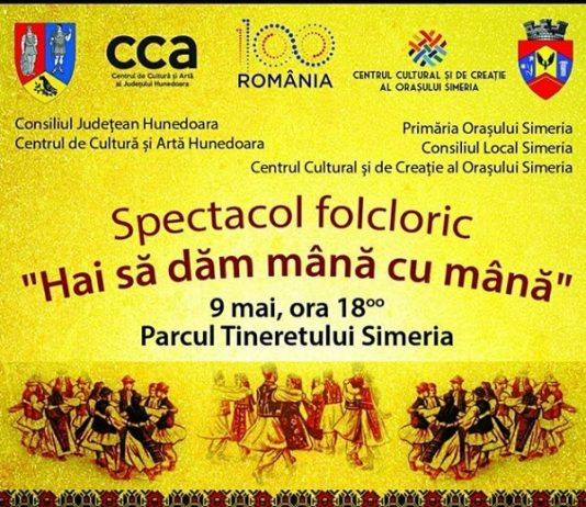 Spectacol folcloric - Hai sa dam mana cu mana