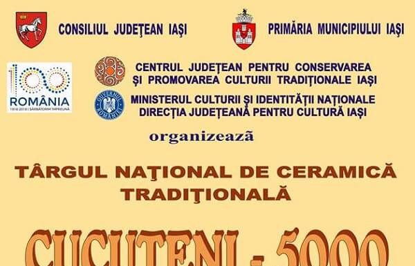 "Targului national de ceramica ""CUCUTENI – 5000"" - 2018"