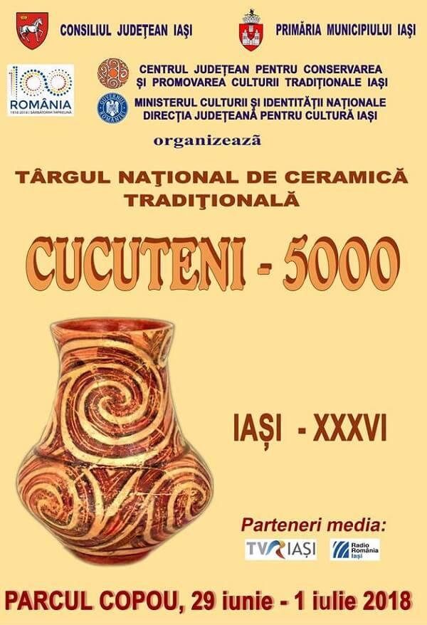 """Targului national de ceramica """"CUCUTENI – 5000"""" - 2018"""