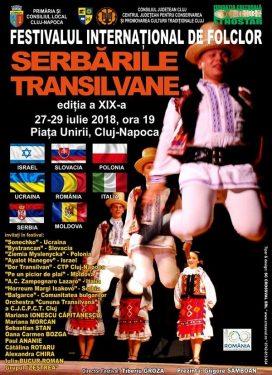 """Festivalul de folclor """"Serbarile Transilvane – Serbarile Centenarului2018"""""""