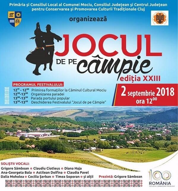 """Festivalul """"Jocu' de pe Campie"""" 2018"""