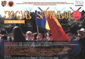 Festivalul Jocul Satului 2018 - Comuna Frata
