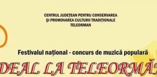 Festivalul Pe deal la Teleormanel 2018