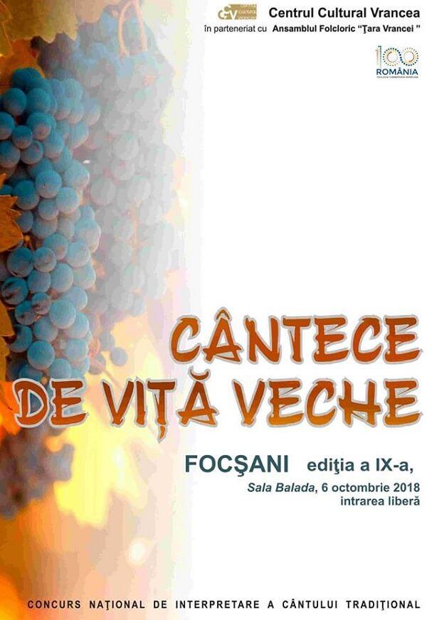 Cantece de Vita Veche - Editia a IX-a