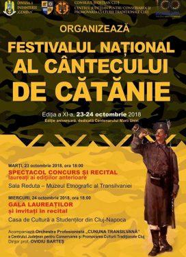 Festivalul National al Cantecului de Catanie 2018
