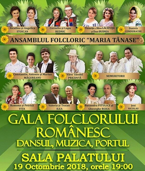 Gala Folclorului Românesc – Dansul, Muzica si Portul