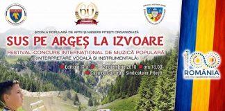 Festival - Sus pe Arges la izvoare 2018
