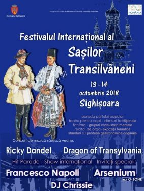 Festivalul International al Sasilor Transilvaneni 2018