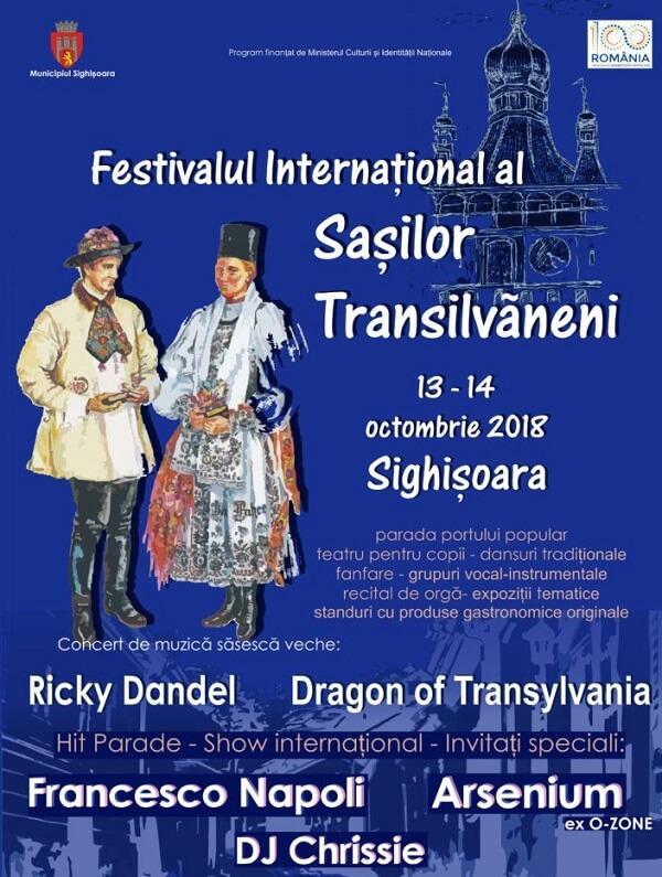 Festivalul Internațional al Sașilor Transilvăneni 2018