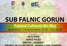 Sub Falnic Gorun - spectacol de exceptie la Blaj