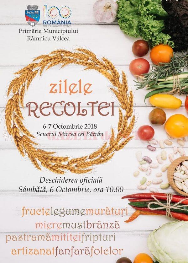 Zilele Recoltei, la Ramnicu Valcea 2018