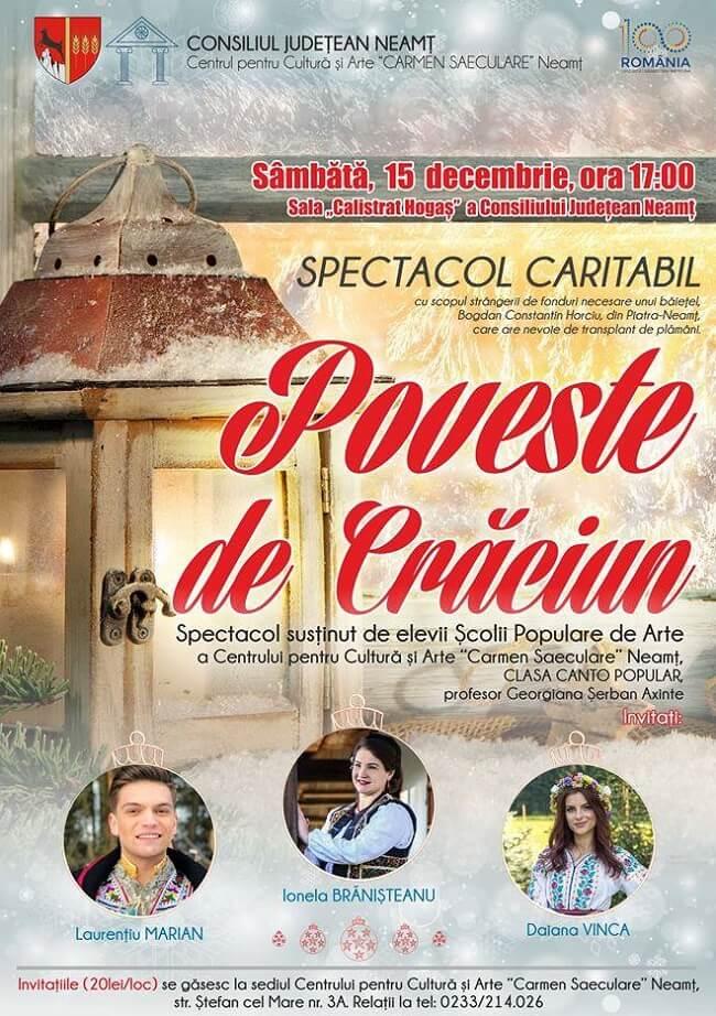 Concert Caritabil - Poveste de Craciun