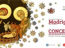 "Concerte ale Corului National de Camera ""Madrigal – Marin Constantin"" 2018"
