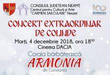 Concertul de colinde al Coralei Armonia 2018