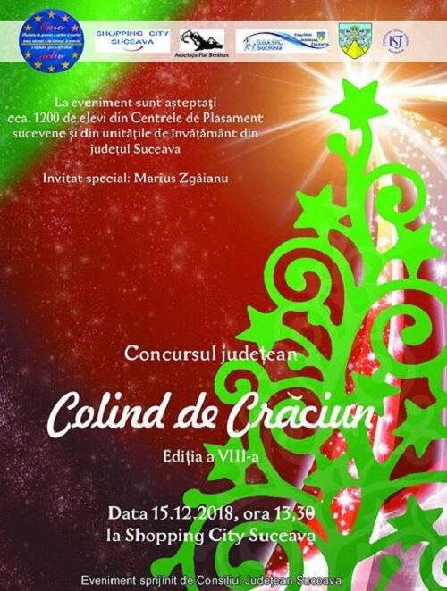 Concursul Judetean Colind de Crăciun la Suceava 2018