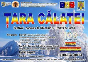 Festivalul judetean de obiceiuri si traditii Tara Calatei 2018