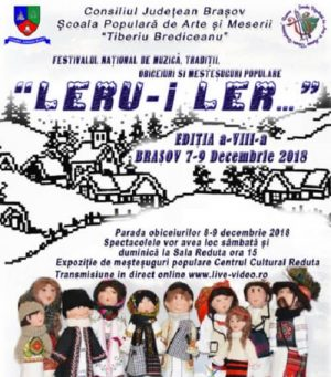 Festivalul national Leru'i Ler 2018