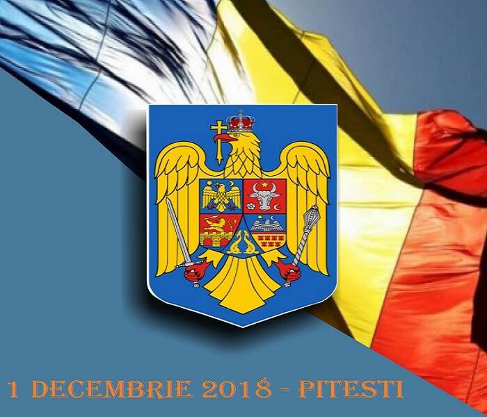 Program evenimente 1 Decembrie - Pitesti 2018