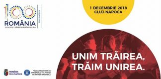 Programul evenimentelor de 1 decembrie - Cluj 2018