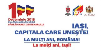 Programul manifestatiilor de 1 decembrie - Iasi 2018