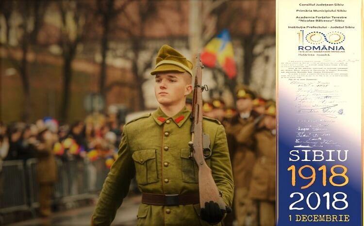 Sarbatoarea Centenarului Marii Uniri - Sibiu 2018