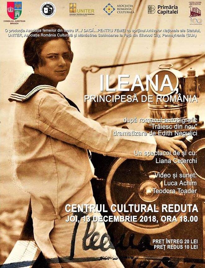 Spectacol - Ileana, Principesa de Romania