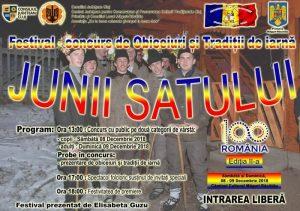Festivalul Obiceiuri si Traditii – Junii Satului 2018
