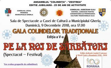 Gala Colindelor Traditionale, la Gherla 2018