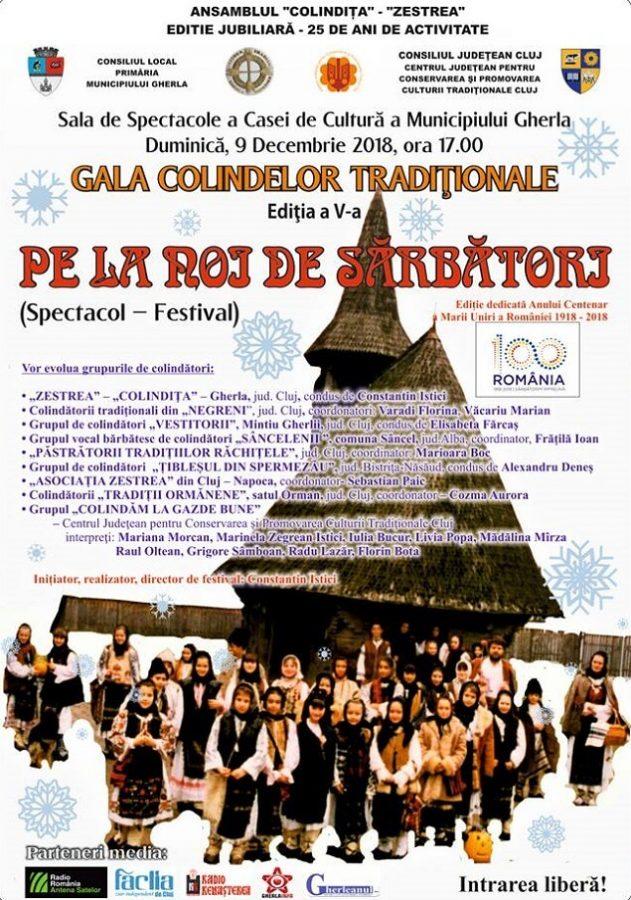 Gala Colindelor Traditionale, la Gherla 2018