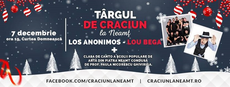 Targul de Craciun la Neamt 2018 - Lou Bega
