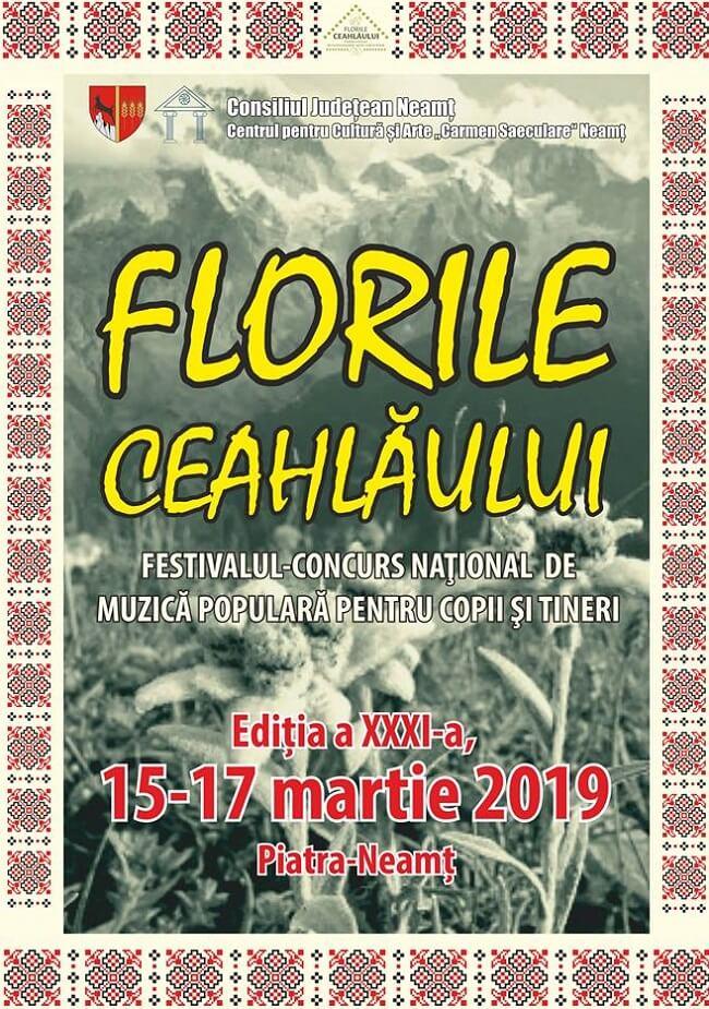 """Festivalul de muzică populară """"Florile Ceahlăului"""" 2019"""