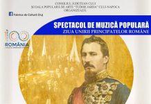 Spectacol Folcloric dedicat Zilei Unirii Principatelor Romane