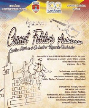 Concert Folcloric Aniversar - Cristian Nastase si Orchestra Rapsodia Vasluiului