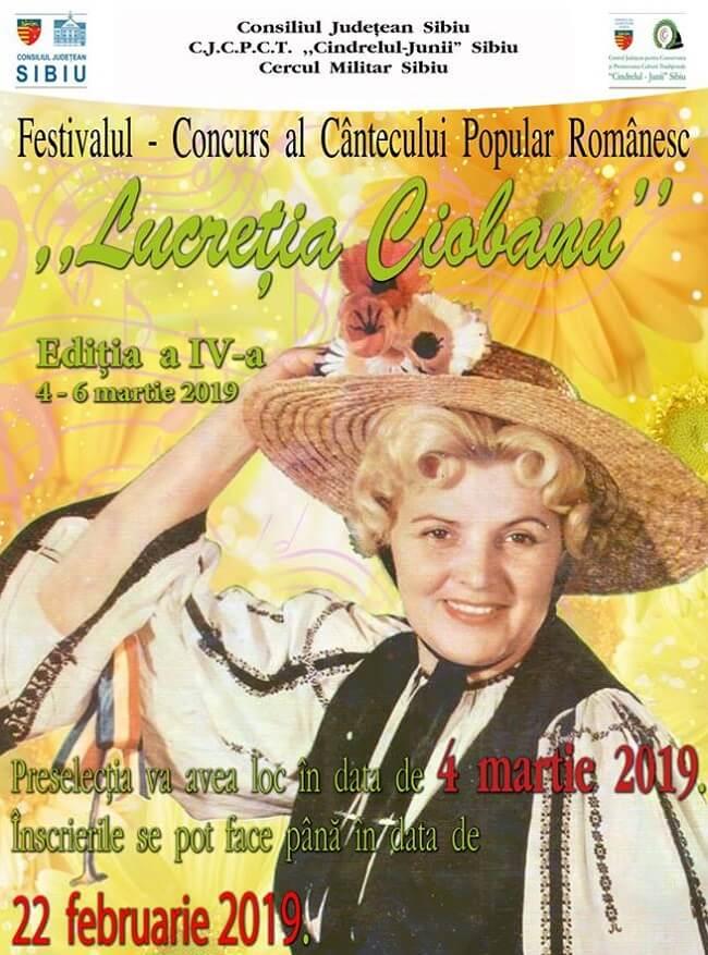 """Festivalul """"Lucreţia Ciobanu"""" 2019"""