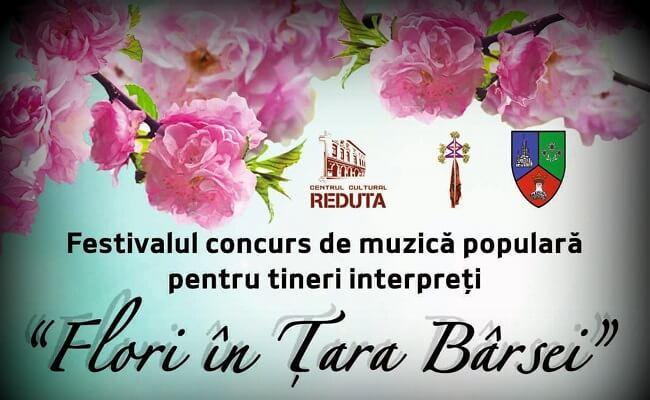"""Festivalul Muzică Populară pentru Tineri Interpreţi ,,Flori în Ţara Bârsei"""""""
