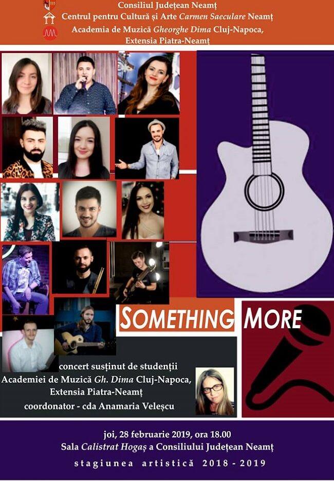 Recital Muzical - Something More