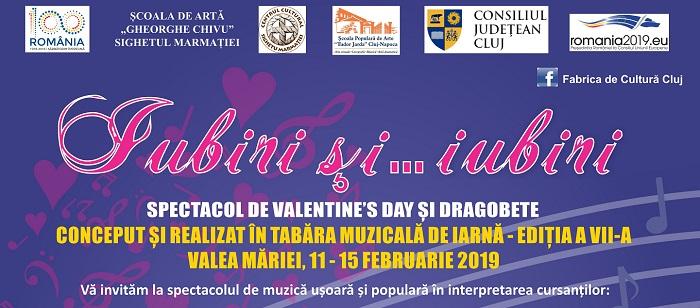 Spectacolul taberei muzicale de iarna ed. VII - Iubiri si ... Iubiri