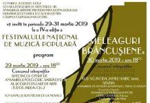 Festivalul National de Muzica Populara Meleaguri Brancusiene 2019