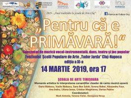 """Sărbătoarea Şcolii de Arte Cluj, """"Pentru că e primăvară"""""""