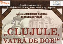 Spectacol Concurs Clujule, vatra de dor! 2019