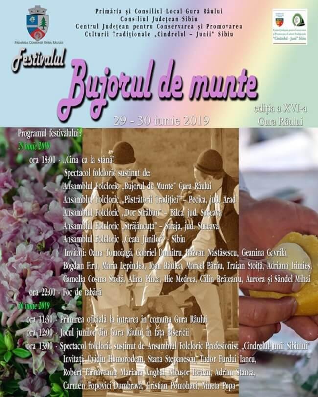 Festivalul - Bujorul de Munte la Gura Raului 2019