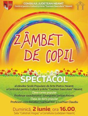 Spectacol Zambet de copil 2019