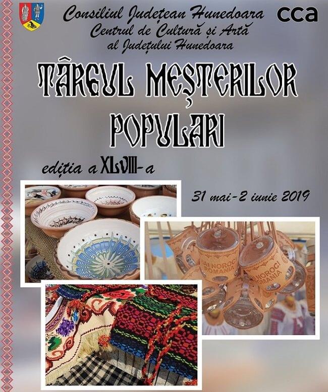 Târgul Meșterilor Populari - Hunedoara 2019