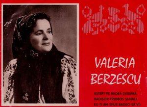 Valeria Berzescu - Biografie