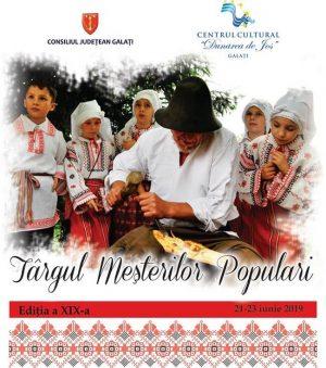 Targul Mesterilor Populari - Galati 2019
